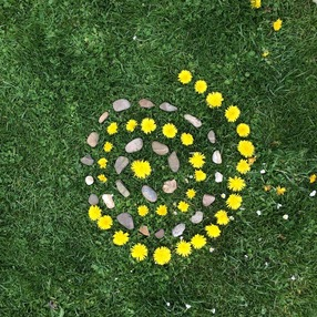 12èmes journées botaniques : Atelier de Land Art