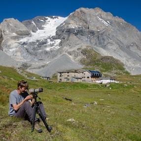 Point d'observation naturaliste le vallon de la Glière