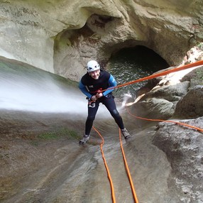 Canyoning Perfectionnement Angon avec MONTE MEDIO