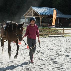 Cours d'équitation