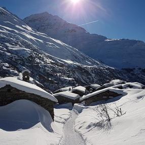 L'Ecot, hameau de haute altitude image