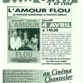 Thé ciné : L'amour flou