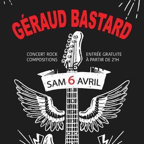 Concert avec Géraud Bastard