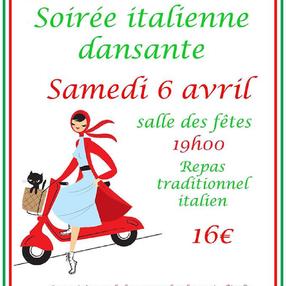 Soirée dansante italienne