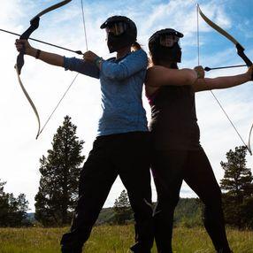 Tag Archery - Olympiades