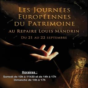 Journées du Patrimoine : visite du Repaire Louis Mandrin