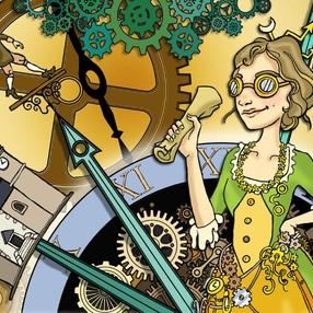 Élisabeth Laurelot, l'aventurière du temps image