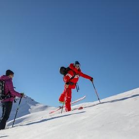 Ski de rando : ma première rando