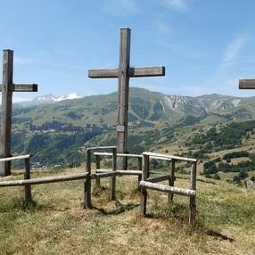 Les Trois Croix et l'Alpettaz