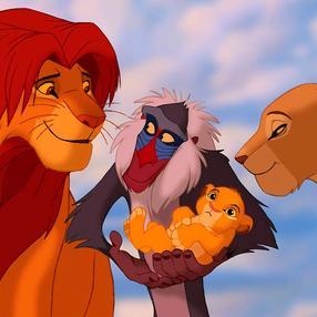 Projection plein air - Le Roi Lion