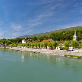 Randonnée VAE : Les Berges du Rhône image