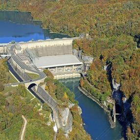 Visite guidée du barrage de Génissiat