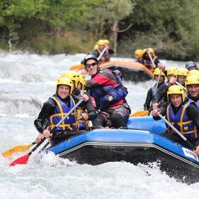 Descente rafting sportive