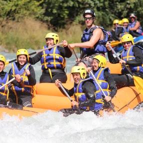 Descente rafting intégrale