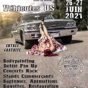 Festival American V8 Days Savoie
