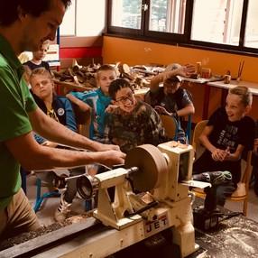 Visite de l'atelier Peter Pan Bois