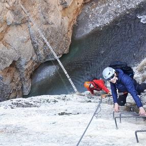 Stage découverte Vertical : Canyon-Escalade-Via Ferrata