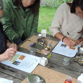Les soins de la peau en été - Atelier autour des plantes