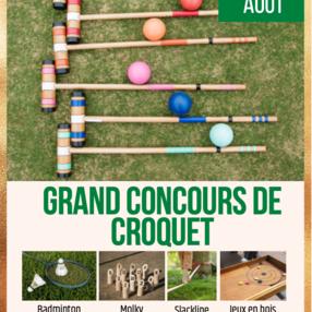 Grand Concours de Croquet et Parcourabulles
