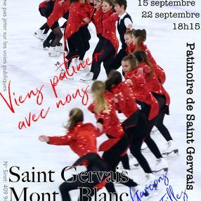Journée portes ouvertes - Saint-Gervais Mont-Blanc Patinage