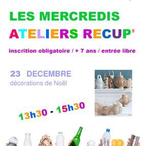 Atelier Récup' : décorations de Noël