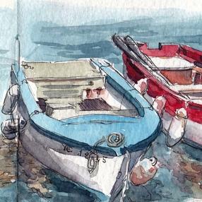 Stage de peinture : Carnet de voyage sur l'Ile d'Yeu