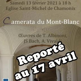 Concert Camerata du Mont-Blanc