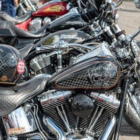 Samoëns American Festival - exposition de motos Américaines