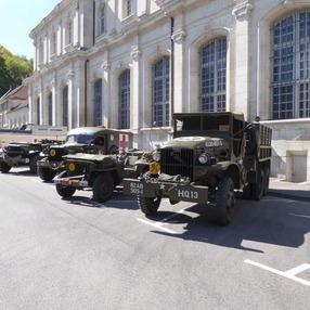 Samoëns American Festival - Camp militaire US de la 2nde guerre mondiale avec la 74ème compagnie