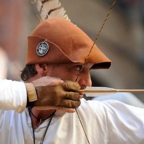 Tir à l'arc médiéval