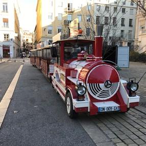 Petit-train touristique de Thonon-Les-Bains image