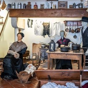 LES VISITES DU MARDI : La vie d'autrefois dans une vallée alpine : Visite du Musée des Traditions Populaires.