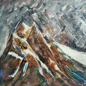 Démonstration avec les Peintres de la Montagne