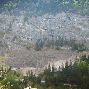 Site d'escalade la Puya