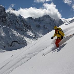 Bassin d'Argentière - Raid à ski 2 jours