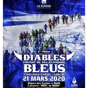 Course de ski alpinisme Les diables bleus
