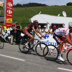 Passage du Tour de France (18ème étape)