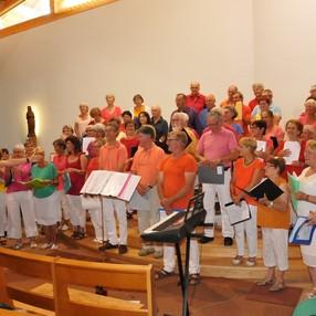 Concert de la chorale éphémère des Saisies