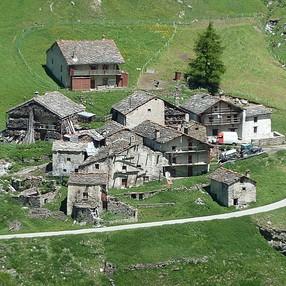 Goulaz, Vincendières, Avérole, hameaux de Bessans