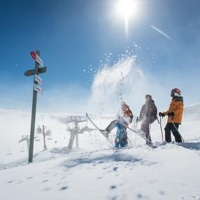 Les Karellis Ski Resort Area
