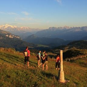 Sentier de randonnée - La pointe de Miribel