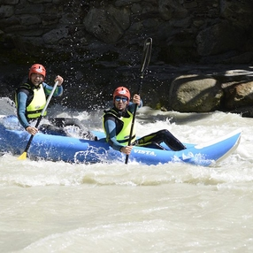 Hydrospeed & Canoe-Rafting on the Arve river