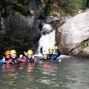 Canyoning : Discovery run in Barberine (Half-Day)