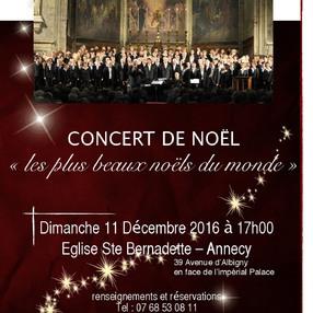 Concert des Chœurs de France