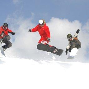 Cours collectifs de snowboard