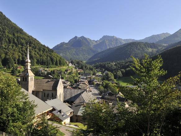 Village et abbaye d'Abondance