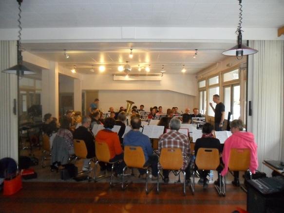 Accueil d'un orchestre pour des stages de répétitions