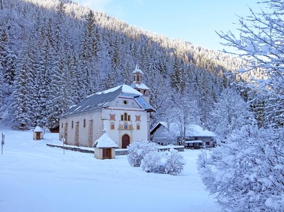 Notre-Dame de la Gorge en hiver