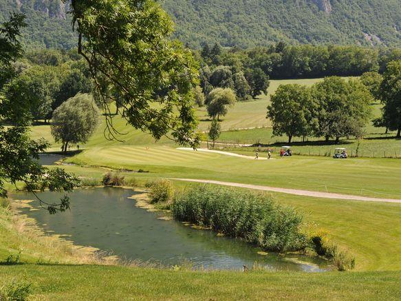Golf de Giez Sources du lac d'Annecy