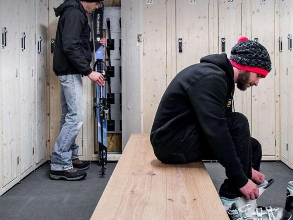 Alpina Ski Room